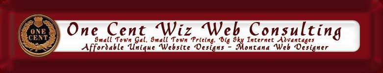 one cent wiz web consulting montana based web designer